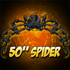 50&quot; Spider Black