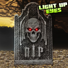 Light Up Tombstone