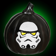 Storm Trooper 6 inch Black Pumpkin