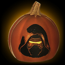 Kylo Ren 6 inch Orange Pumpkin Light Up