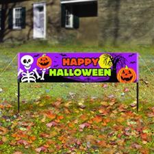 Happy Halloween Lawn Banner