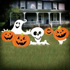 Halloween Yard Sign Corrugated