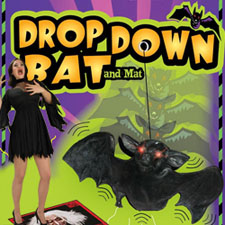 Drop Down Bat with Lighted Eyes