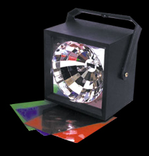 Xenon Strobe with Colored Filters