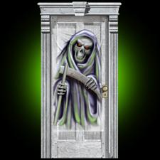 Door Drape - Grim Reaper