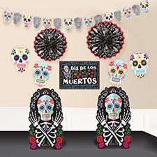 Black and Bone Room Decoration Kit
