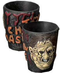LEATHERFACE SHOT GLASSES