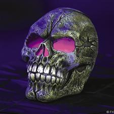Smoking Skull Fogger - Halloween Decorations