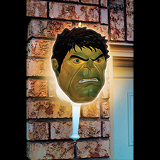 Hulk Porch Light Cover