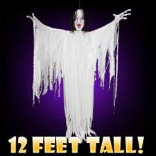 12 Foot Hanging Girl - Halloween Decorations