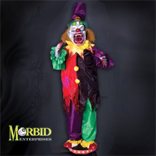 Walking Clown Teeth - Halloween Decorations