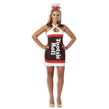 Tootsie Roll Teardrop Dress