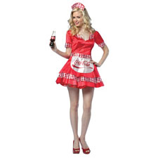 Coca Cola Soda Girl
