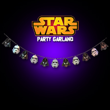 Star Wars Party Garland