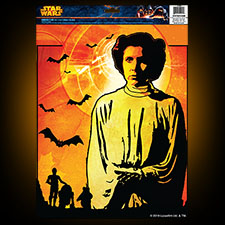 Star Wars Window Cling  - Princess Leia