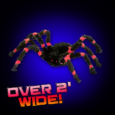 Red/Black Spider - Small
