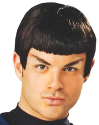 SPOCK WIG STAR TREK MOVIE