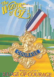 THE BADGE OF COURAGE