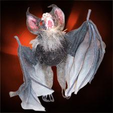 Hairy Hanging Vampire Bat - Large