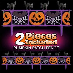 Pumpkin Patch Fence - Halloween Decorations