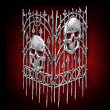Silver Skull Fence