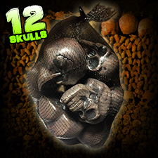 Bag of Skull Heads - Halloween Decorations