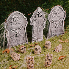 12 Piece Cemetery Kit