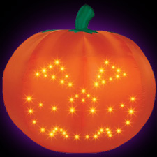 Airblown - Light Show Singing Pumpkin - Thriller