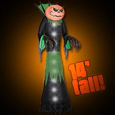 Airblown pumpkin reaper colossal