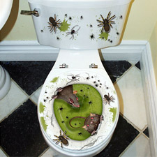Toilet Seat Grabber - Rats