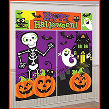 Halloween Scene Setters Room Decorations
