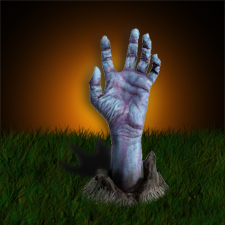 Zombie Hand From Ground
