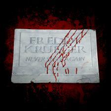 Freddy Krueger Footstone