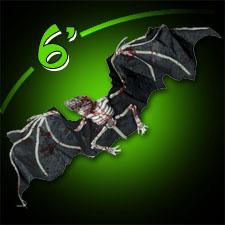 "72"" Giant Skeletal Bat"