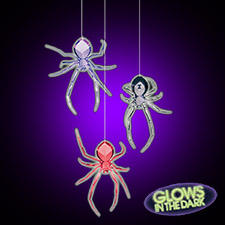 3D Spider Hanging Decorations
