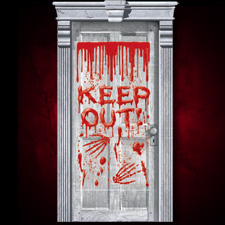 Dripping Blood Door Decoration