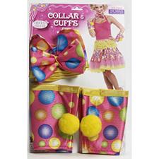 Circus Sweetie Collar / Cuff Set