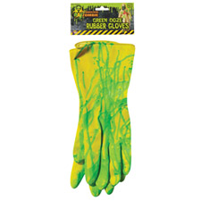 Biohazard Rubber Gloves With Ooze