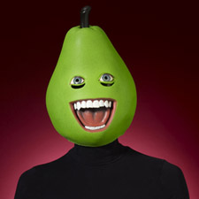 Pear Latex Mask