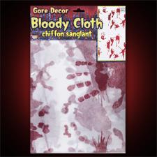 Creepy Bloody Cloth