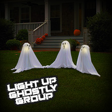 Light Up Ghostly Group - Small