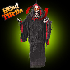 Head Turning Cloaked Skeleton