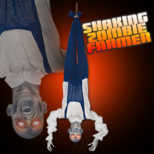 Shaking Upside Down Zombie Farmer