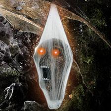 Screaming Light Up Larva Head