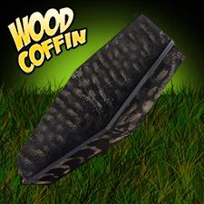 5' Wood Coffin