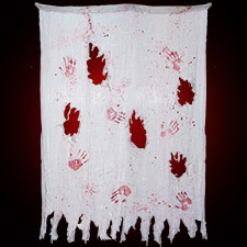 6' Bloody Hands Cloth
