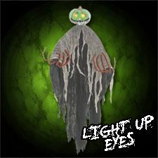 5' Light Up Pumpkin Reaper
