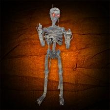 Lifesize Hanging Mummified Skeleton