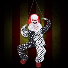 Kicking Clown on Swing