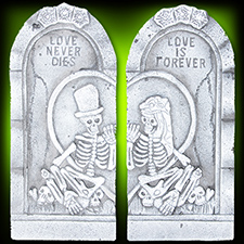 Tombstone Couple Set